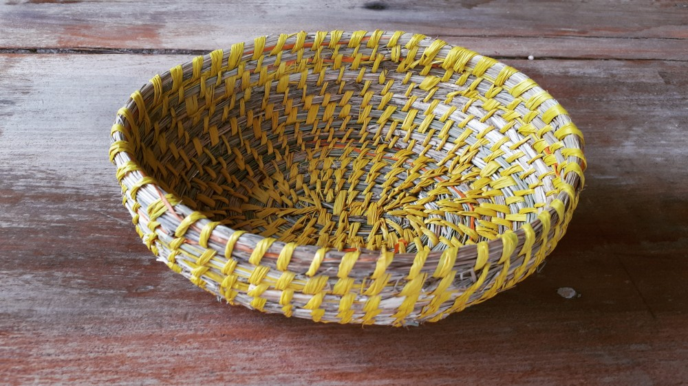 Poa Grass Coil Baskets by Adrienne Kneebone